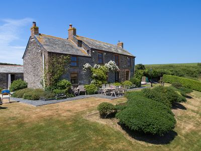Photo for Luxury  5 star Farmhouse near padstow, wifi, fishing, bird hide, stunning views