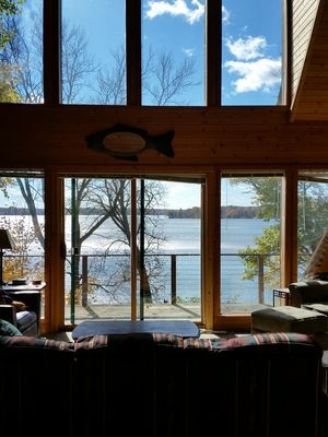 Wonderful Chalet on Big Lake Chetac - Birchwood