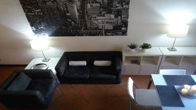 Photo for Cozy Trastevere WiFi A / C in the Old Trastevere ideal for a couple + child