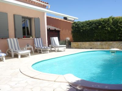 Photo for 2 bedroom Villa, sleeps 6 in Cogolin with Pool and WiFi
