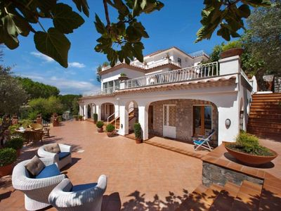 Photo for 5 bedroom Villa, sleeps 16 with Pool, Air Con, FREE WiFi and Walk to Shops