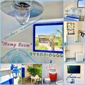 "Photo for Villa Ines in Palinuro - ""Mamy Room"" (Room with 2 beds)"