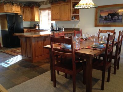 Photo for 3 BR Deluxe MH #703 End Unit.  Best rates in Moose Hollow!