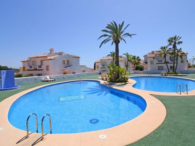 Photo for Bungalow Puerta de Calpe with pool, terrace, A/C, wifi and parking