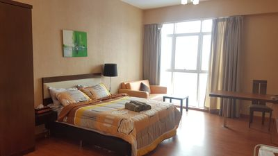 Photo for Cosy Kuala Lumpur City Studio Apartment within KL City Centre near LRT with WIFI
