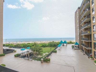 Photo for G301: Updated 3BR Sea Colony Oceanfront Condo | Private beach, pools tennis ...