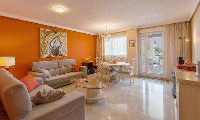 Photo for Apartment with magnificent sea views, garden, 3 swimming pools and gimnase.