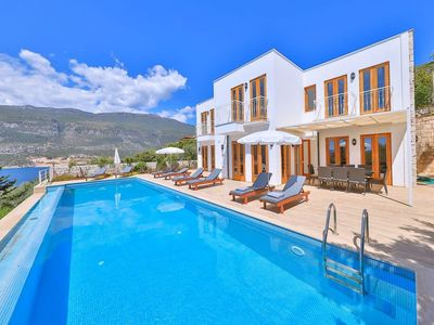 Photo for 4 Bedroom Seaview Villa Julien, Kas Peninsula