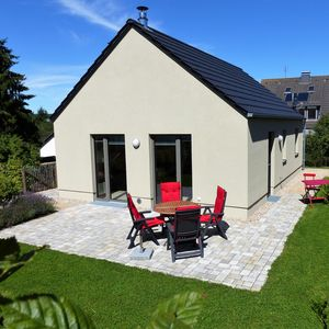 Photo for Detached holiday home in the Eifel, allergy friendly wooden construction.