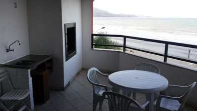 Photo for Ocean Front, Apartment 3 bedrooms, 3 bathrooms, Meia Praia, Itapema