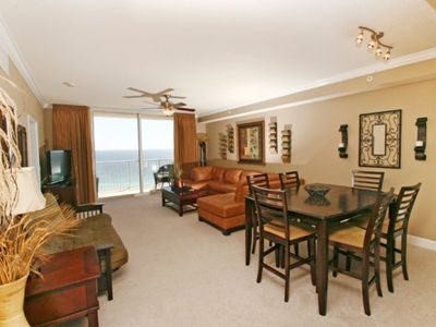 Photo for Over 1600 SG FRT of luxury Gulf front 2 bedroom 2 bath sleeps 6