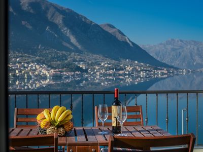 Photo for Newly built luxury villa with private heated pool, close to Kotor Old Town