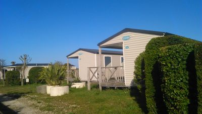 Photo for CAMPING OCEAN FACING POOL MOBILE, SPACE FOR CAMPING SAINT DENIS D'OLERON