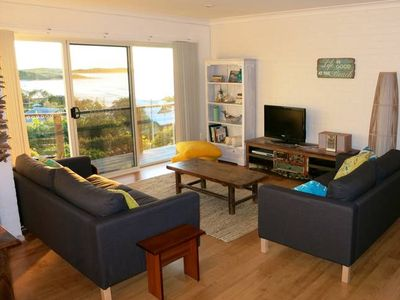 Photo for Ocean View Cottage beautiful views and headland nature haven