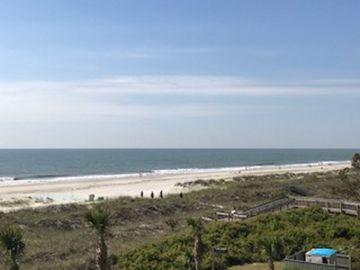 Two Mile View of the crystal clean beaches on Hilton Head