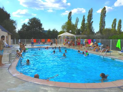 Photo for Espalion, nice accommodation for 5 people, heated pool, ideal for families