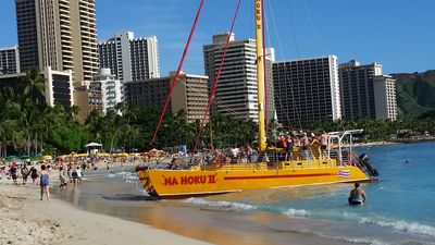 Photo for Waikiki Beach -Best Deal Ever - Best Location Few Steps from Ocean - 70'TV-King
