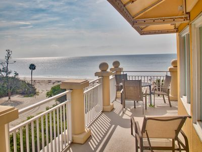 Photo for Oceanfront Penthouse - Best Views & Beach on Daufuskie Island!