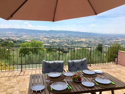 Assisi - Views forever! The rooftop BBQ Terrace is just perfect