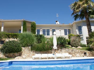 Photo for Luxury Villa in Playa de Aro with a panoramic view of the Costa Brava sea