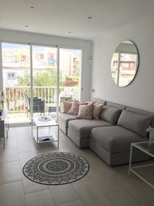 Photo for Completely renovated apartment on Torrecilla beach, Nerja's best location!