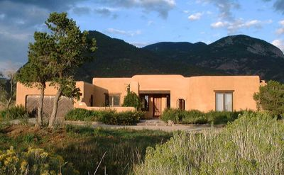Photo for CASA COYOTE - Taos Custom Adobe Home -  Views/Swim/Ski/Spa/Tennis/WIFI - Los Alt
