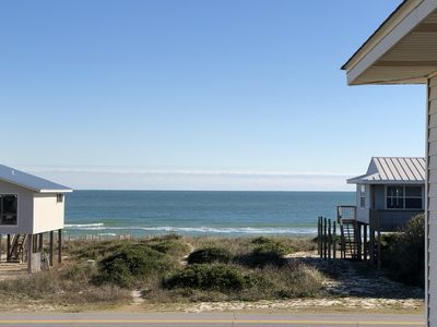 Photo for Across from beach w/pvt Pool -Bright Spacious w/Direct Beach Access(100 steps)