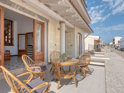 Photo for Central Apartment just a Few Meters From the Beach with Terrace