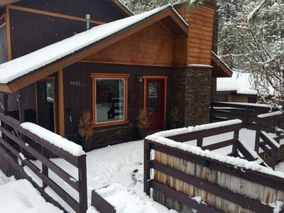 Photo for Beautiful Tahoe Cabin In Brockway-close walk to beach, 3br / hot tub/deck.