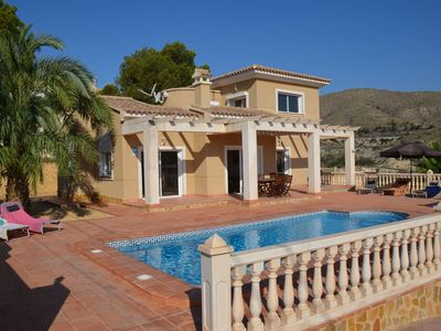 Photo for Wonderful private villa for 8 people with private pool, WIFI, A/C, TV and parking