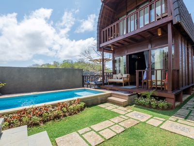 Photo for Two Bedroom Villa with Private Pool at Puri Pandawa Resort, 2Storey Joglo Style