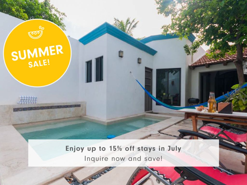 Charming home for families in bustling Mérida.