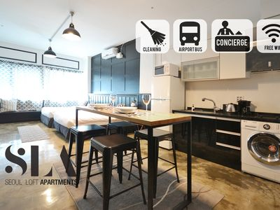 Photo for ★SLA★13. Uptown Loft (Monthly Discount/DDP)