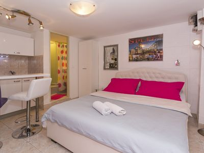 Photo for Modern and practical studio apt in the heart of Split
