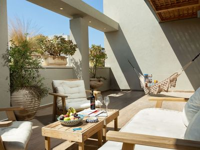 Photo for Sophisticated 3BR Penthouse in Jaffa's market