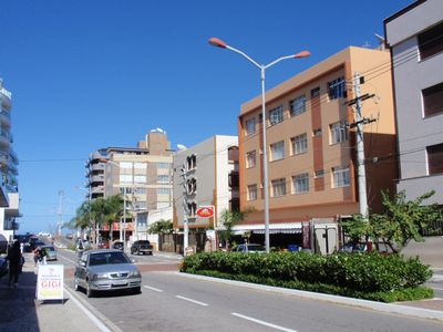 Photo for Apartment excellent location, 1 block from Praia do Forte, WiFi and cable TV