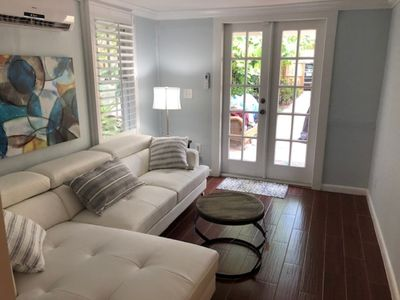 Photo for Hidden Gem!  Carriage House Cottage Just off Las Olas Blvd in Victoria Park!