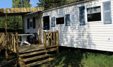 Photo for Camping L'Etang du Pays Blanc *** - Mobile Home Comfort 4 Rooms 8 People