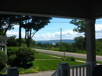 Photo for Walk to H.S. Beach, Shopping, Dining, View of Little Traverse Bay-Baby Friendly