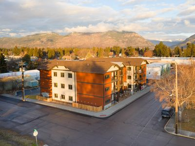 Photo for NEW LISTING! 3-Bedroom Luxury Condo Near Glacier, Skiing and Snowmobiling