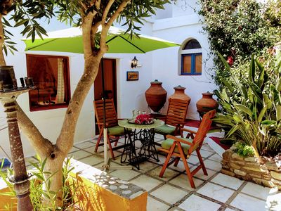 Photo for A quiet complex in the mountains of Kos with 3 apartments!
