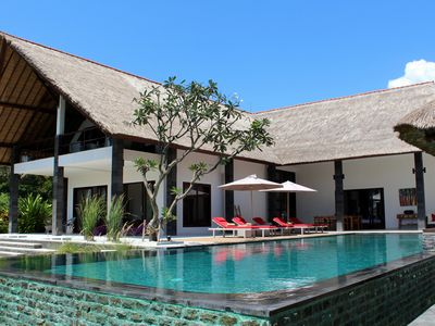 Photo for Beachfront Luxury Villa in the unspoiled & authentic North Bali