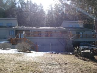Beautiful Adirondack Home with stunning mountain views and fantastic sunsets.