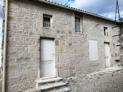 Photo for 150 year old cosy stone cottage  in the Charante. Gay friendly welcome.