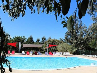 Photo for Camping Des Pins **** - Mobilhome for 4 People
