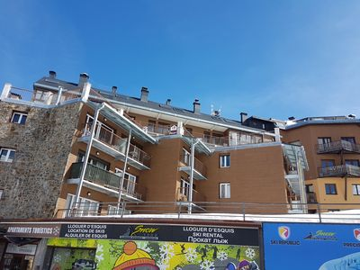 Photo for studio for 4 persons, (32m2), access at a common terrace with view on the slopes and at 10