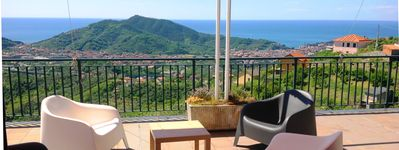 Photo for Sestri Levante - Villa with splendid terrace view