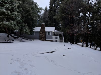Photo for Charming, cozy Crestline cabin completely renovated and close to everything!