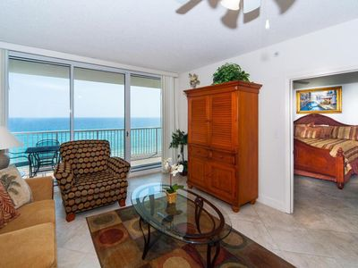 Photo for Great Amenities,  Ocean Front living & Master Bedroom,