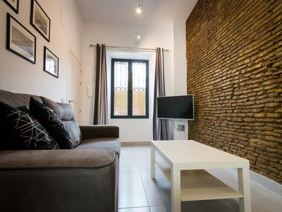 Photo for Cervantes.2 bedrooms apartment with parking in centre Malaga
